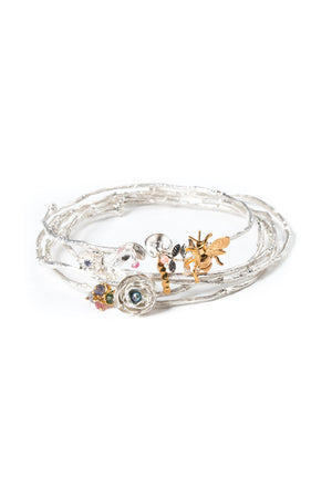 Forget-me-not Bangle