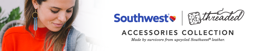 Southwest x Rethreaded Accessories Collection