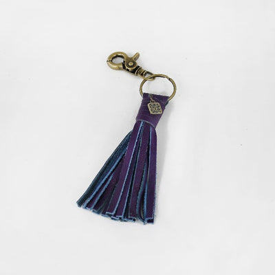 Tassel Keychain Leather