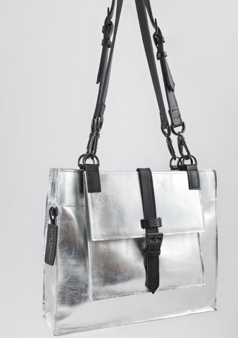 Berkeley Medium - Metallic Silver