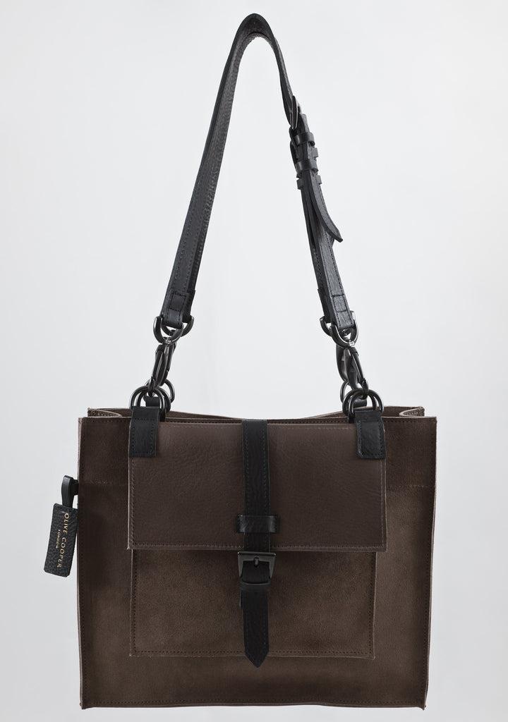 Olive Cooper Suede Berkeley Bag