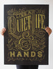 Quiet Life Gold Edition Poster