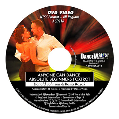 Anyone Can Dance Absolute Beginners Foxtrot