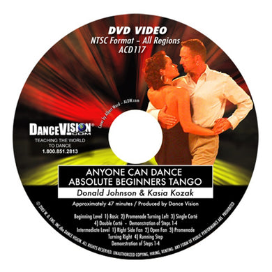 Anyone Can Dance Absolute Beginners Tango