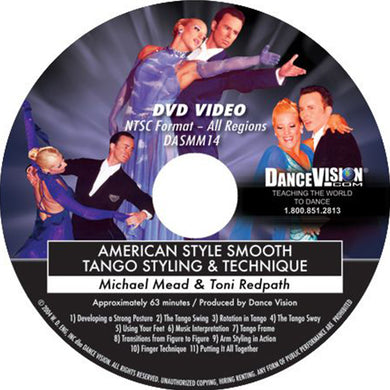 American Smooth Tango Styling & Technique
