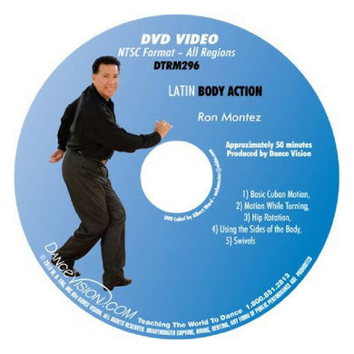 Latin Body Action with Ron Montez