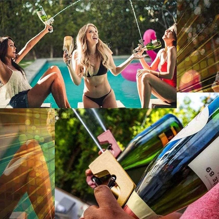 Champagne gun spray High aluminum quality