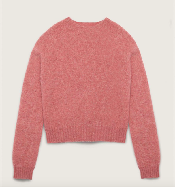 YMC Jets Brushed Wool Crew Neck Jumper-bowns