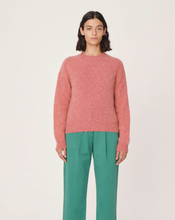 Load image into Gallery viewer, YMC Jets Brushed Wool Crew Neck Jumper-bowns