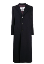 Load image into Gallery viewer, Vivienne Westwood Single Breasted Navy Wool Coat-bowns-cambridge