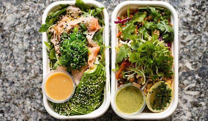 Load image into Gallery viewer, Takeaway Cubby Salads