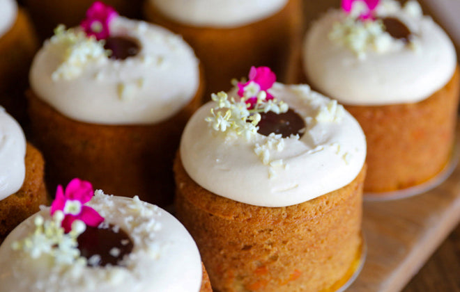 Mini Carrot Cheesecake