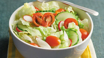 Iceberg Salad with Dash Dressing