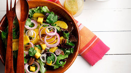 Mixed Greens, Mango and Pecan Salad