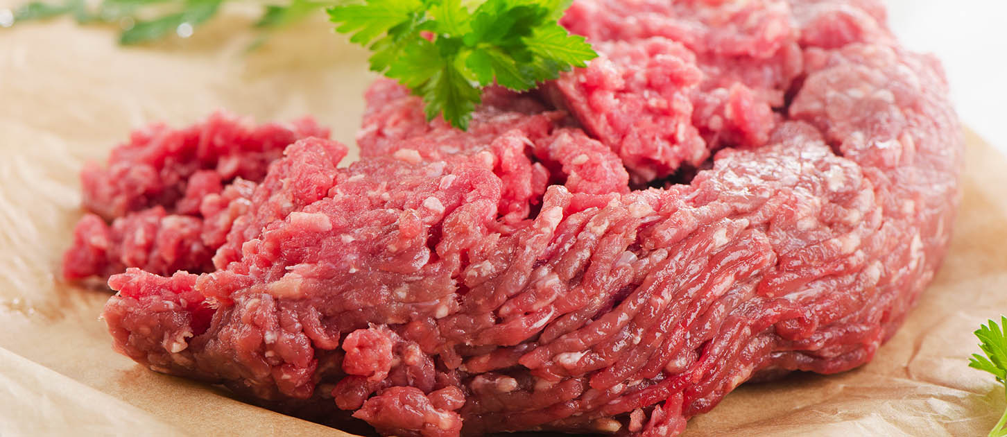 ground beef or ground turkey
