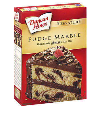 Duncan Hines Swiss Chocolate Cake Mix Brownies