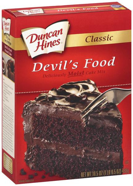 Duncan Hines Perfect Size for 1 Mug Cake Mix, Ready in About a Minute,