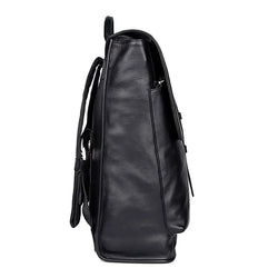 TuccisLeather 2754A 100% Cow Leather Laptop Backpack