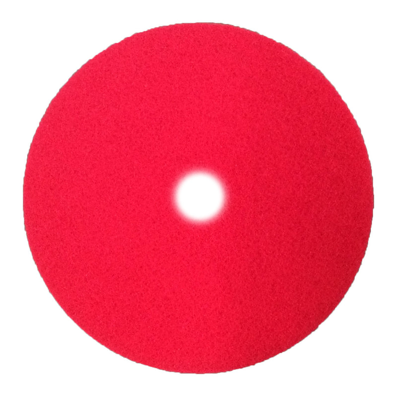 255-1060 - 10 inch premium red scrubbing pad (pkg of 20)