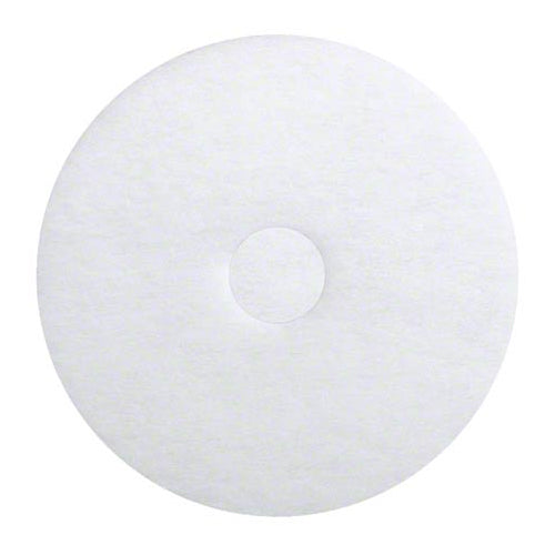 255-2020 - 20 inch premium white polishing pad (pkg of 5)