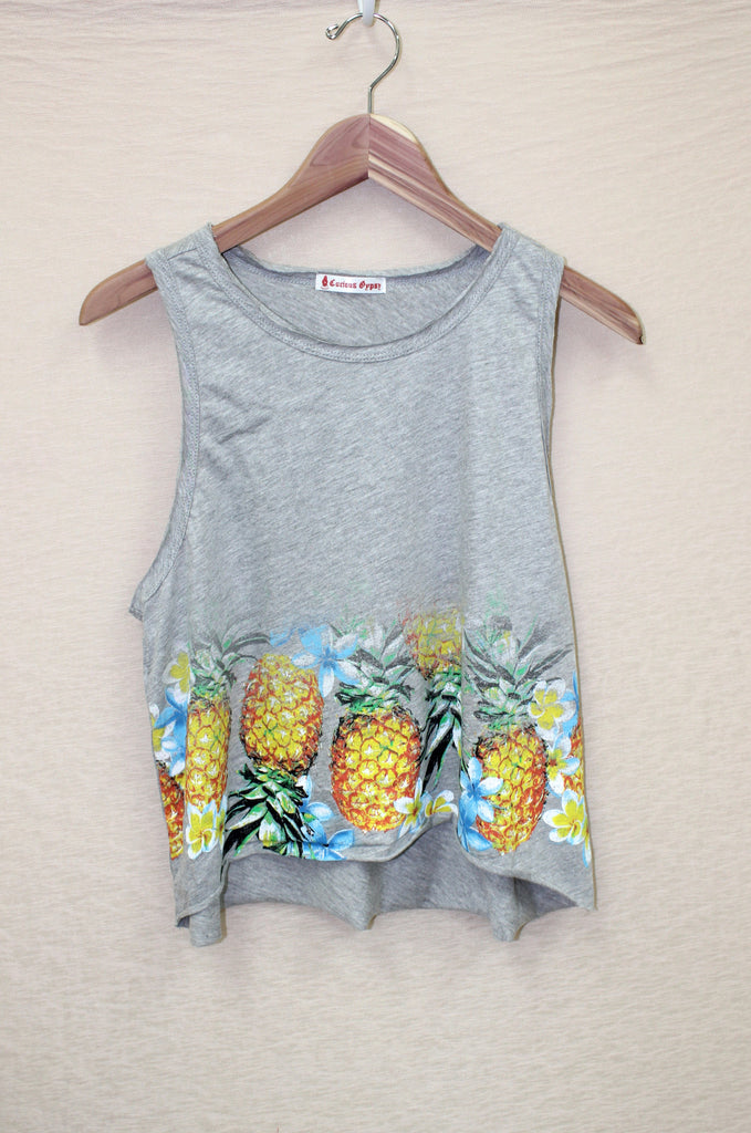 Pineapple Muscle Tee