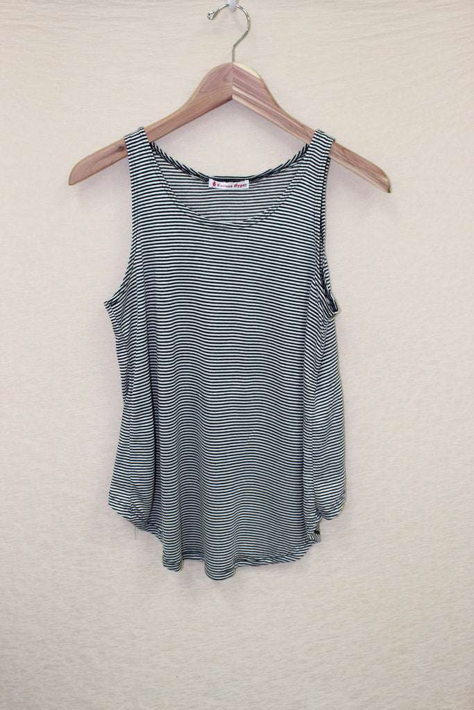Low-Hi Striped Tank