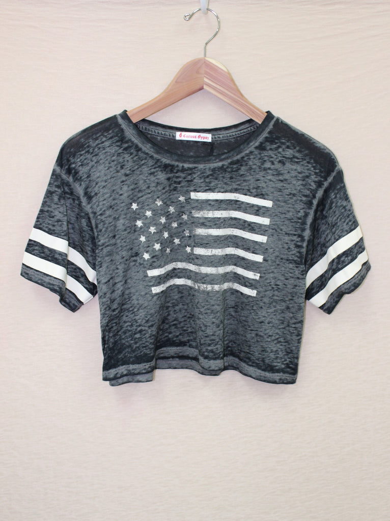 Flag Burnout Crop