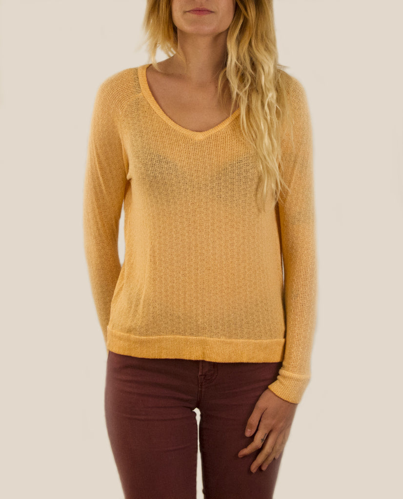 Loose Knit Raglan Sweater
