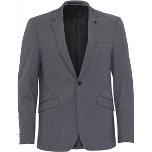CLEAN CUT COPENHAGEN Milano Stretch Jersey Blazer - Denim Melange