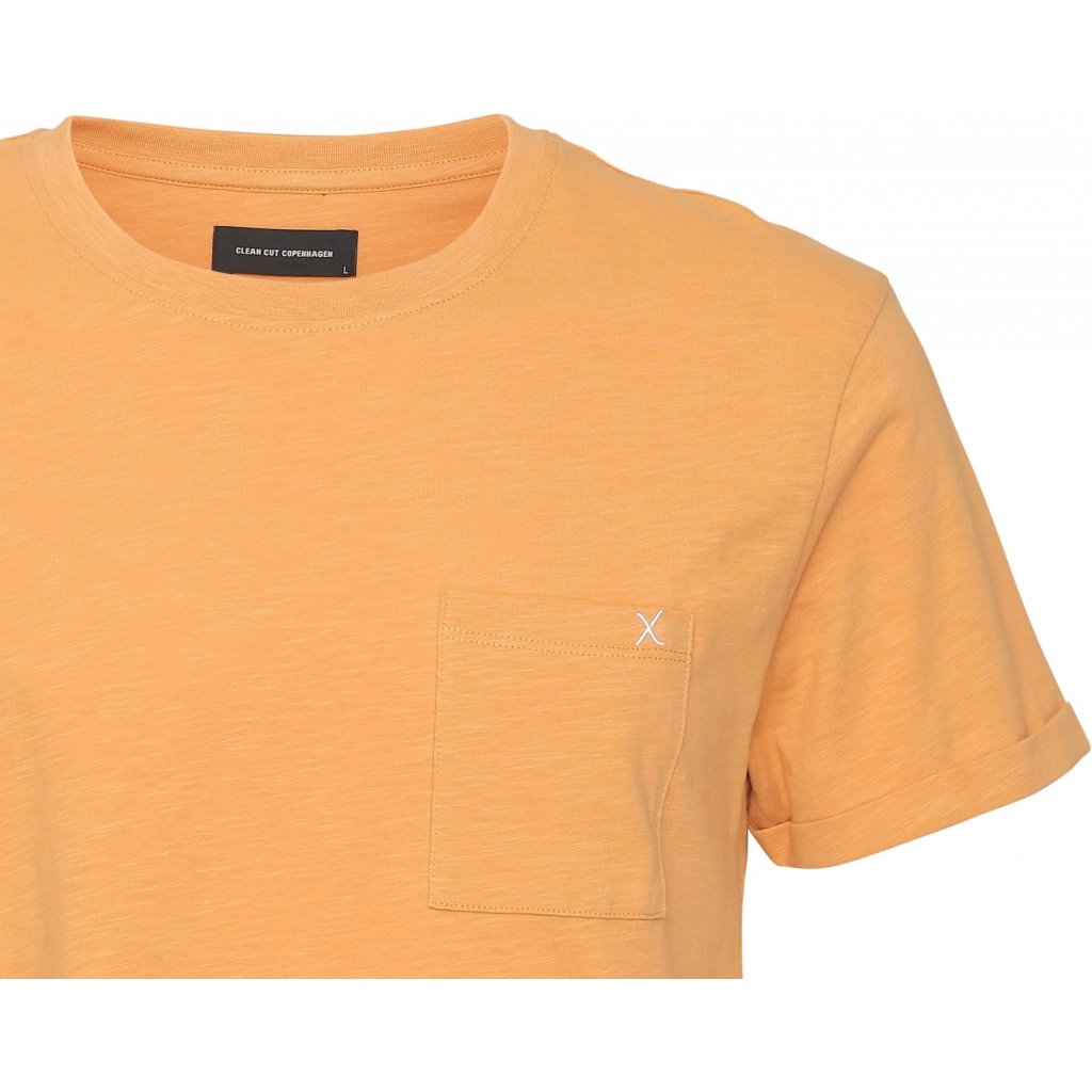 KOLDING ORGANIC T-SHIRT - PALE ORANGE