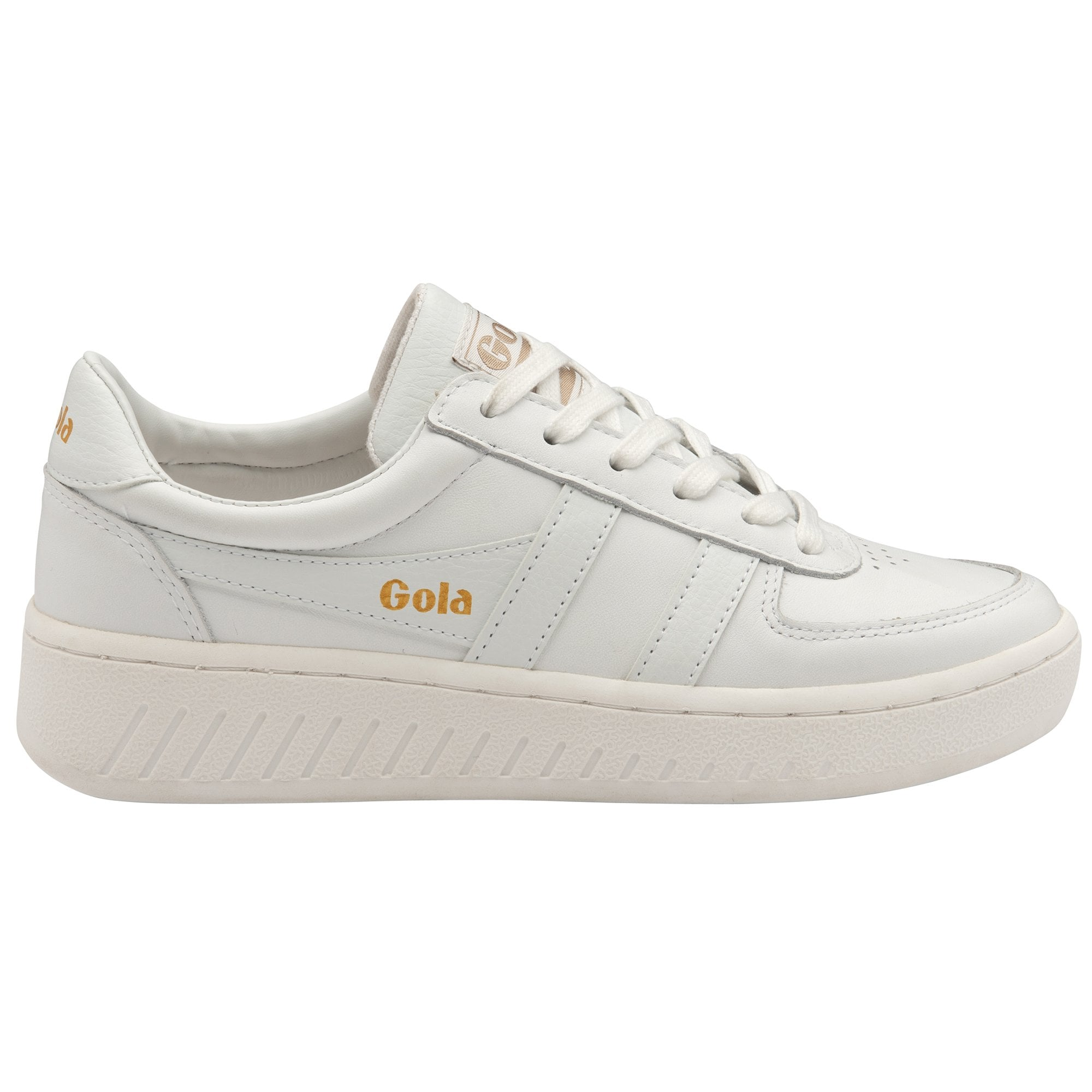 Women's Grand slam Leather Trainers