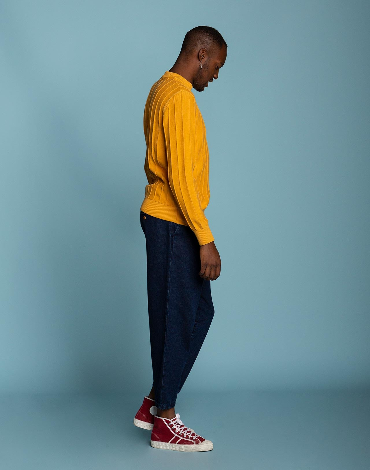 YELLOW SCRED KNITWEAR, yellow