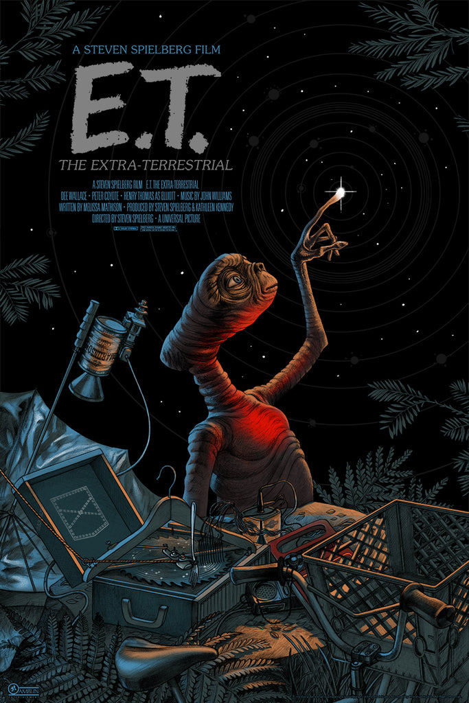New Poster: E.T. THE EXTRA-TERRESTRIAL by Jonathan Burton ...