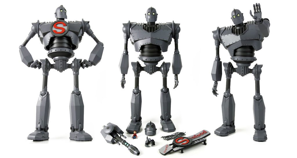 the iron giant deluxe figure pre