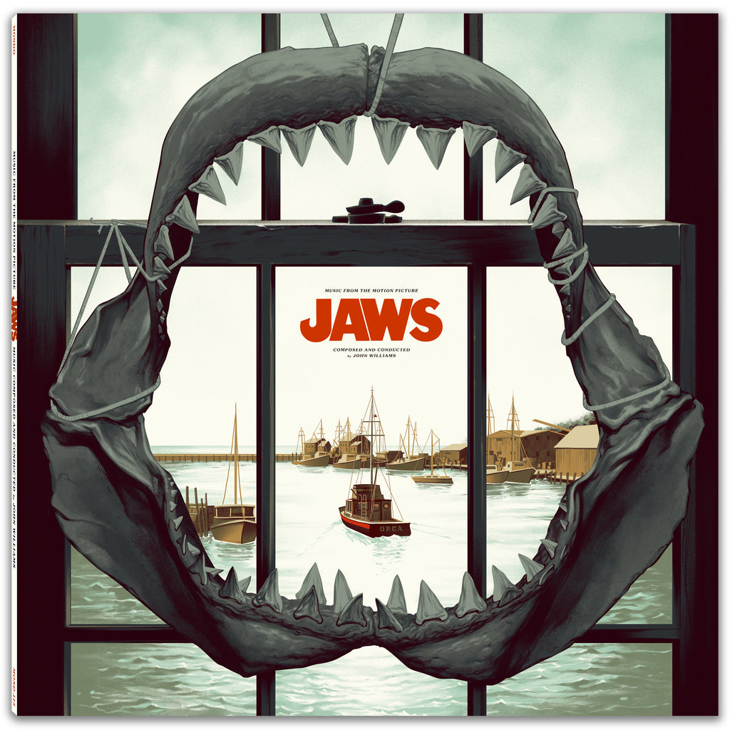 Jaws Music From The Motion Picture Vinyl Amp Posters Mondo