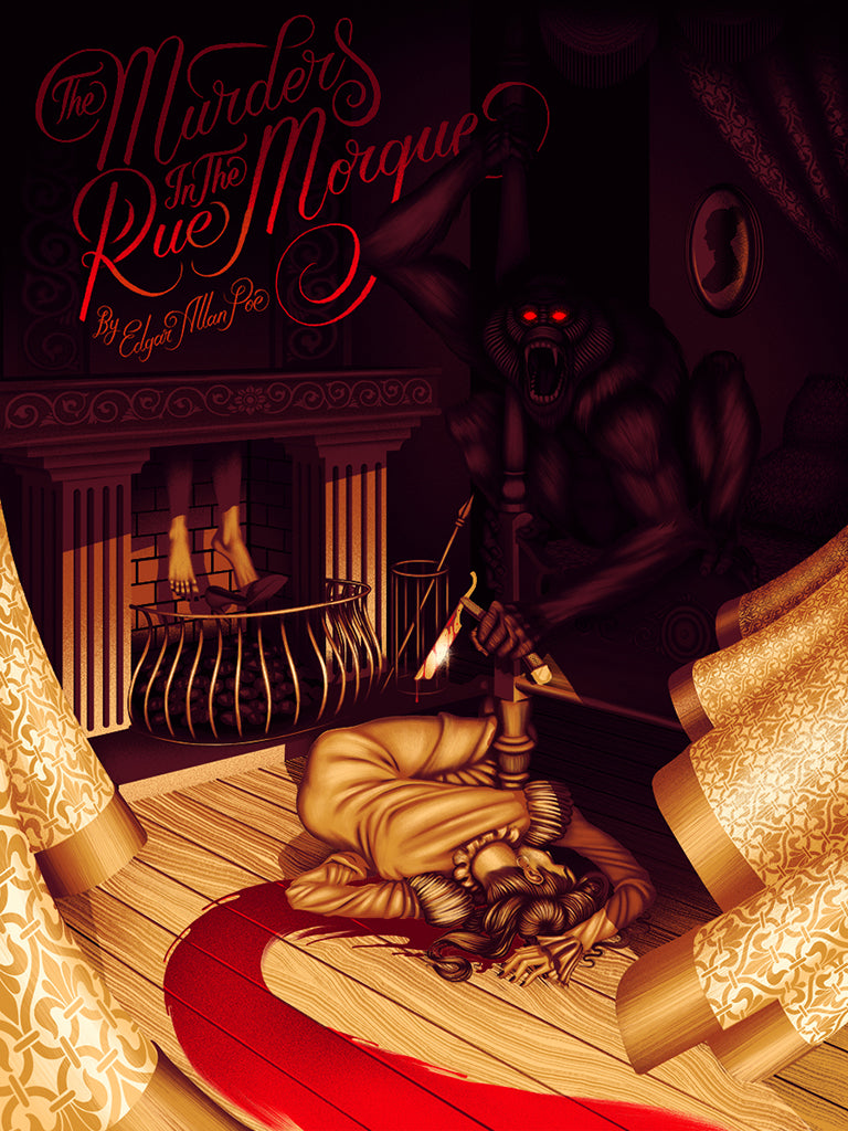 what is the murders in the rue morgue about