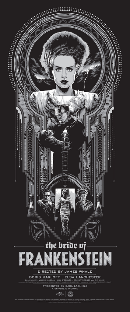 Mondo Gallery Presents Universal Studios Monsters