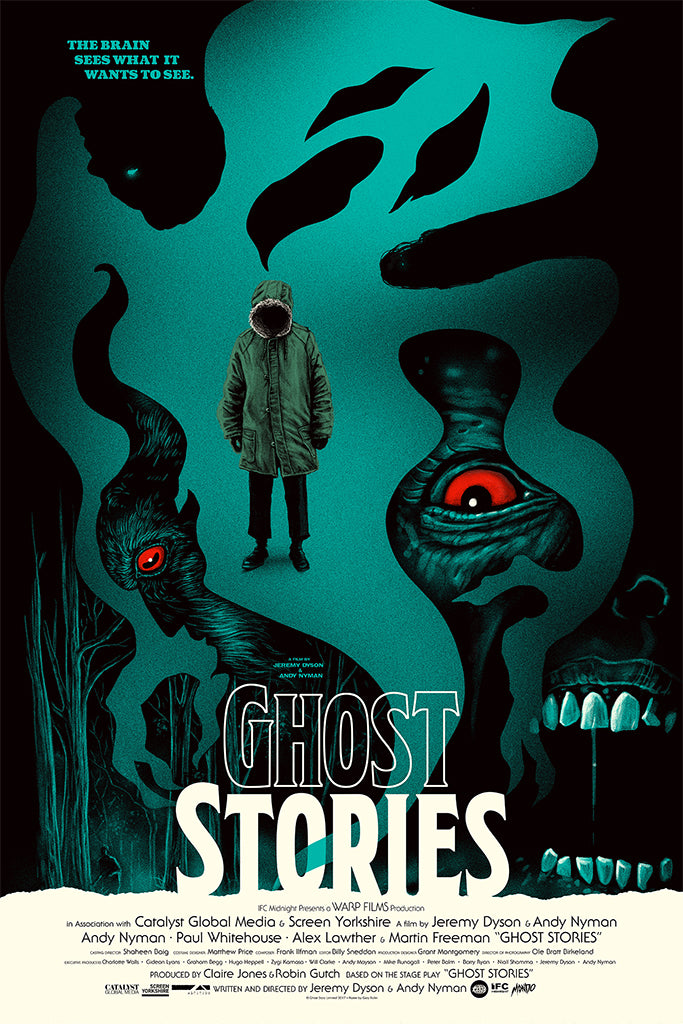 New Poster: GHOST STORIES By Gary Pullin!