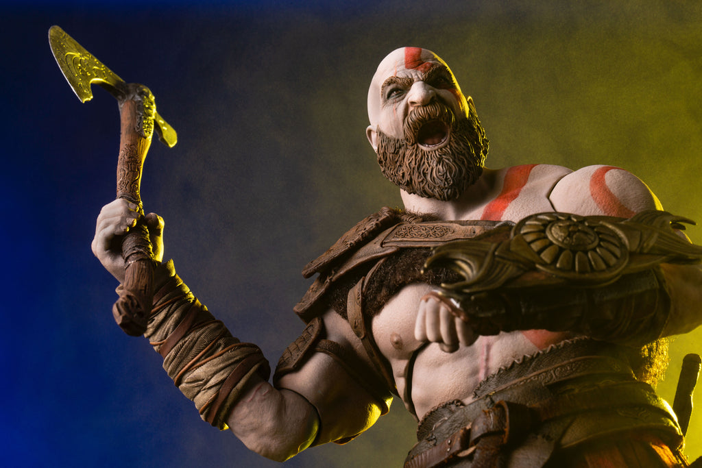 God Of War Kratos 1 6 Scale Deluxe Figure Mondo