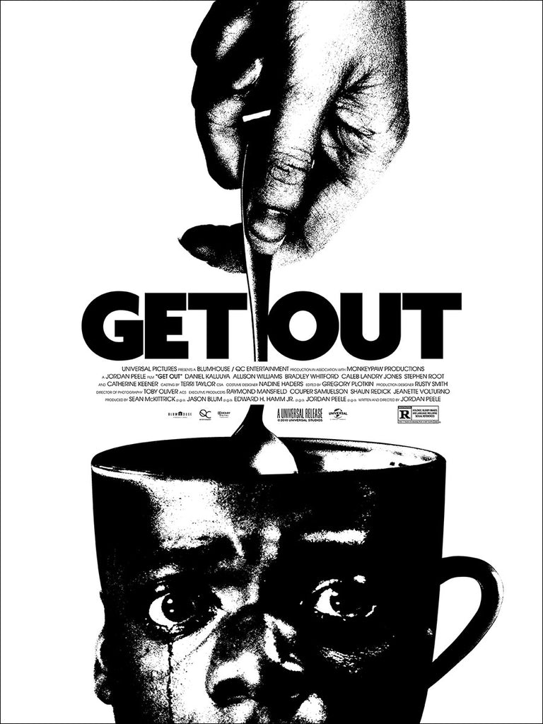 Image result for get out poster
