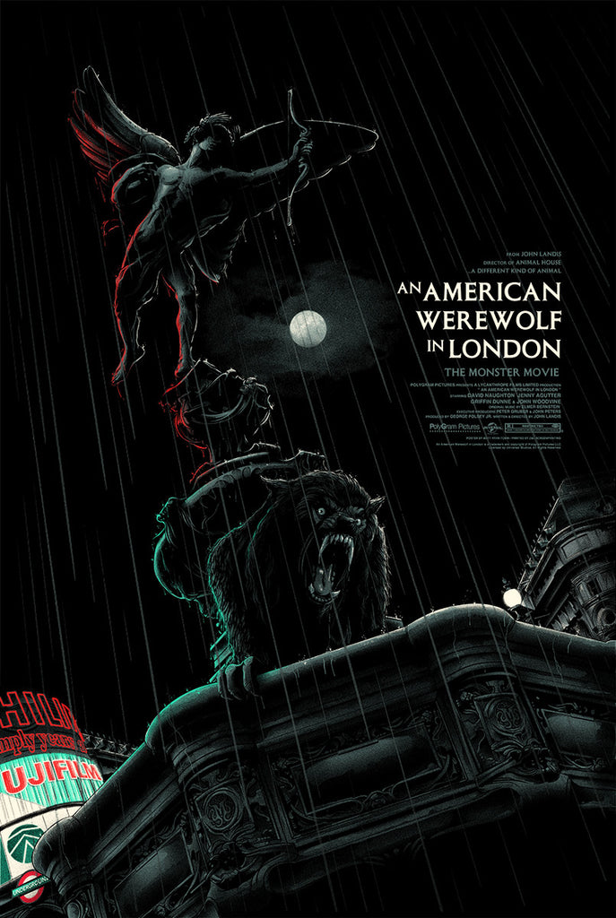 an american werewolf in london by matt ryan tobin - Halloween Mondo Poster