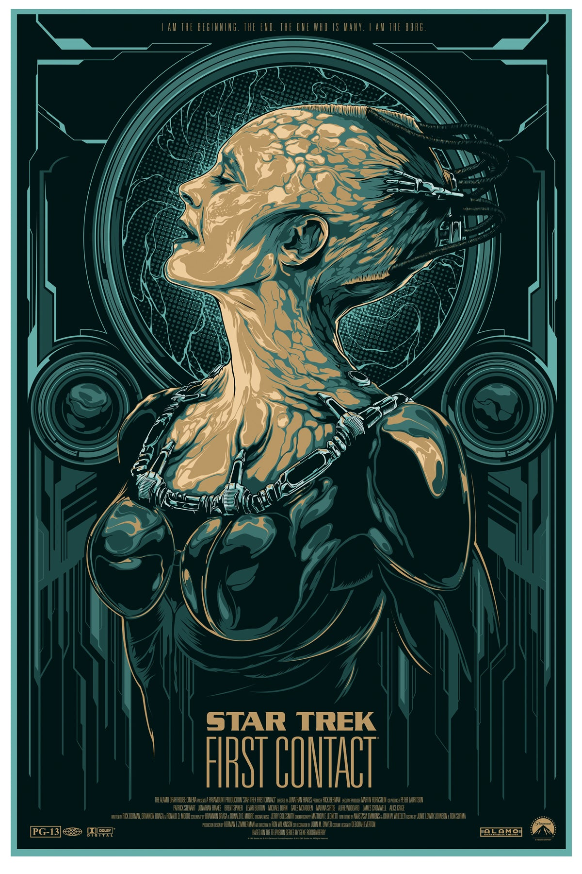 Star Trek Movie Poster Art