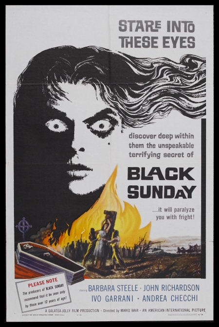 Black Sunday - U.S. Artwork