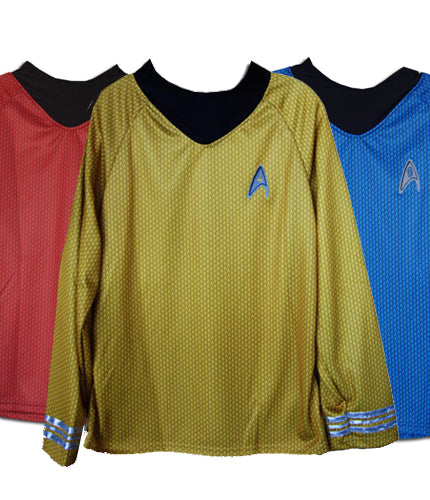 Star Trek 2009 uniform costume shirt