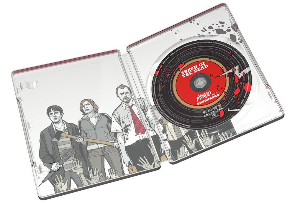 Mondo x SteelBook #007: SHAUN OF THE DEAD