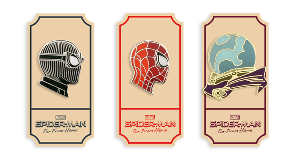 New SPIDER-MAN Puzzle & Enamel Pins! – Mondo