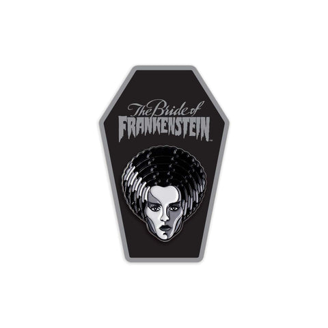 Bride of Frankenstein Enamel Pin (Silver Screen Edition)