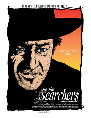 The Searchers Jermaine Rogers poster