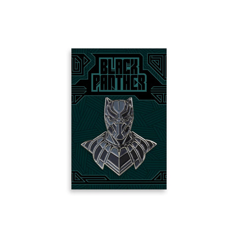 Black Panther Enamel Pin