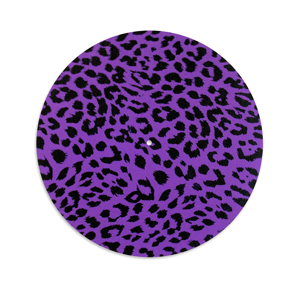 Purple Leopard / Mega Records Slip Mat